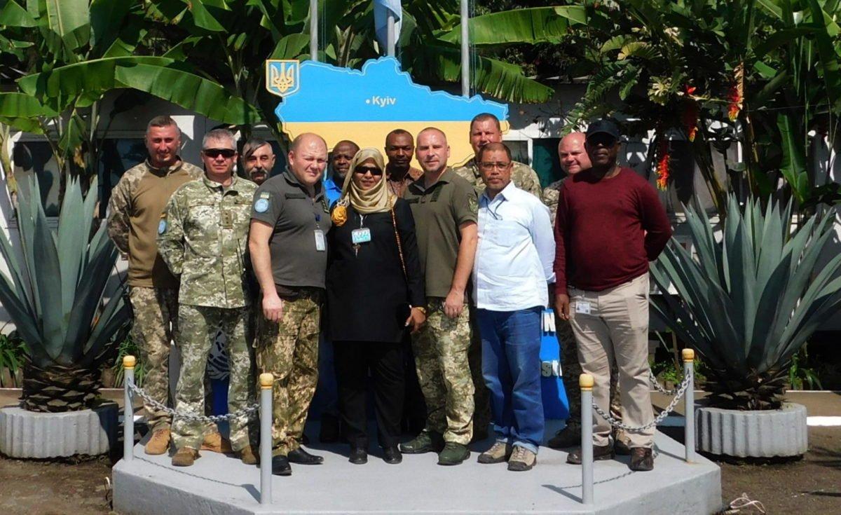 Українські військовослужбовці у ДР Конго успішно пройшли перевірку інспекції штабу Місії ООН зі стабілізації