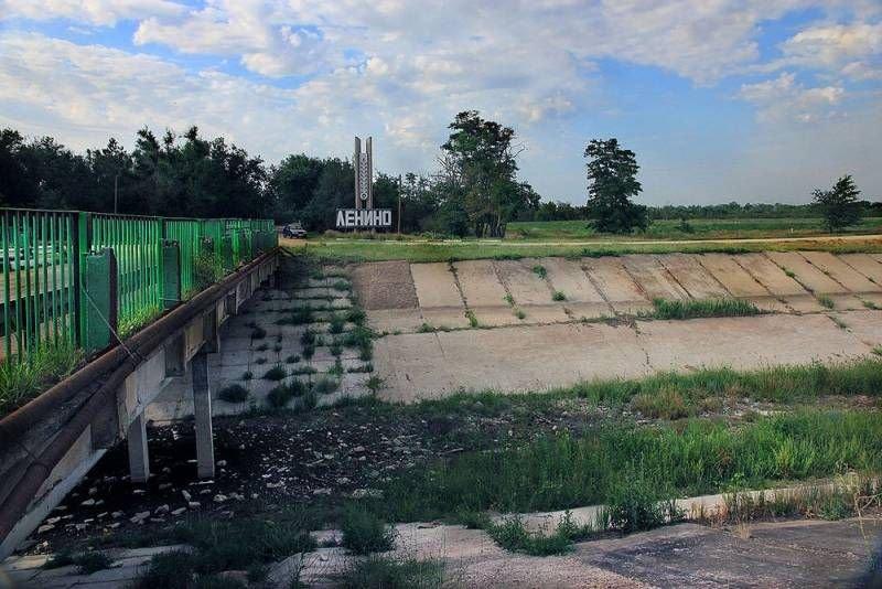 Перетворимо Північно-Кримський канал на смердючий відстійник
