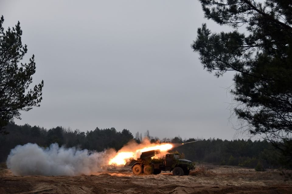 Артилеристи «30-ки» вдарили з усіх стволів