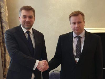 Керівники оборонних відомств України та Фінляндії обговорили напрями двостороннього співробітництва