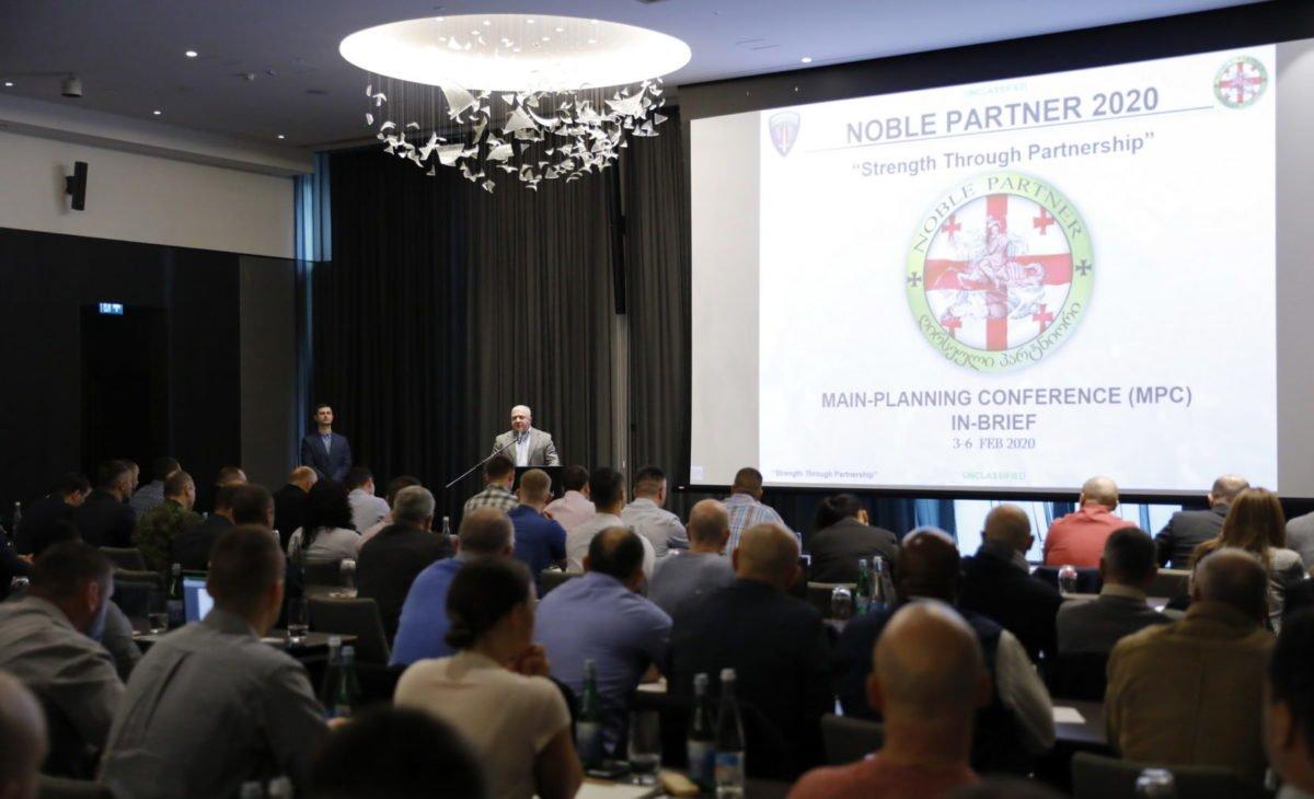 У Грузії відбулася головна планувальна конференція багатонаціонального навчання Noble Partner – 2020