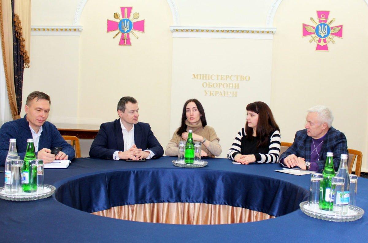 Заступник Міністра оборони Олексій Марценюк провів зустріч з ініціативною групою інвесторів, які ведуть будівництво на землях Міноборони