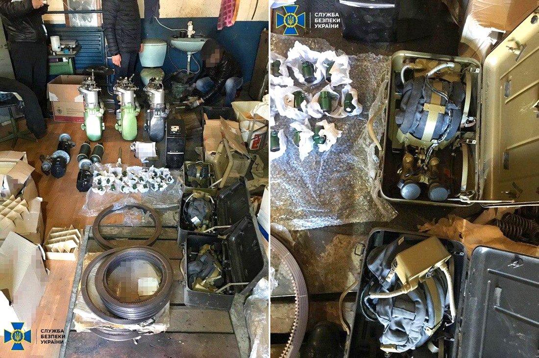 СБУ завадила поставкам несправної бронетехніки до Збройних Сил України