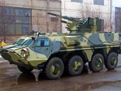 Наступну партію БТР-4Е планують передати війську наприкінці лютого