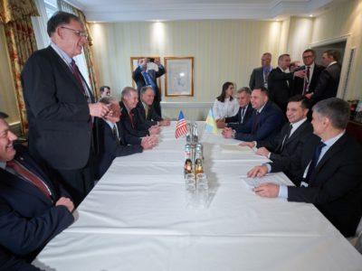 Я відчуваю дуже позитивне ставлення США до України – Президент