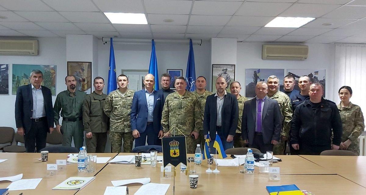 Шведські сапери готові надавати допомогу Україні в сфері протимінної діяльності