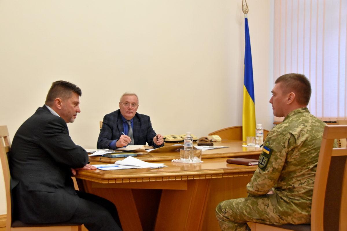 Заступник Міністра оборони України Олександр Поліщук провів прийом громадян з особистих питань