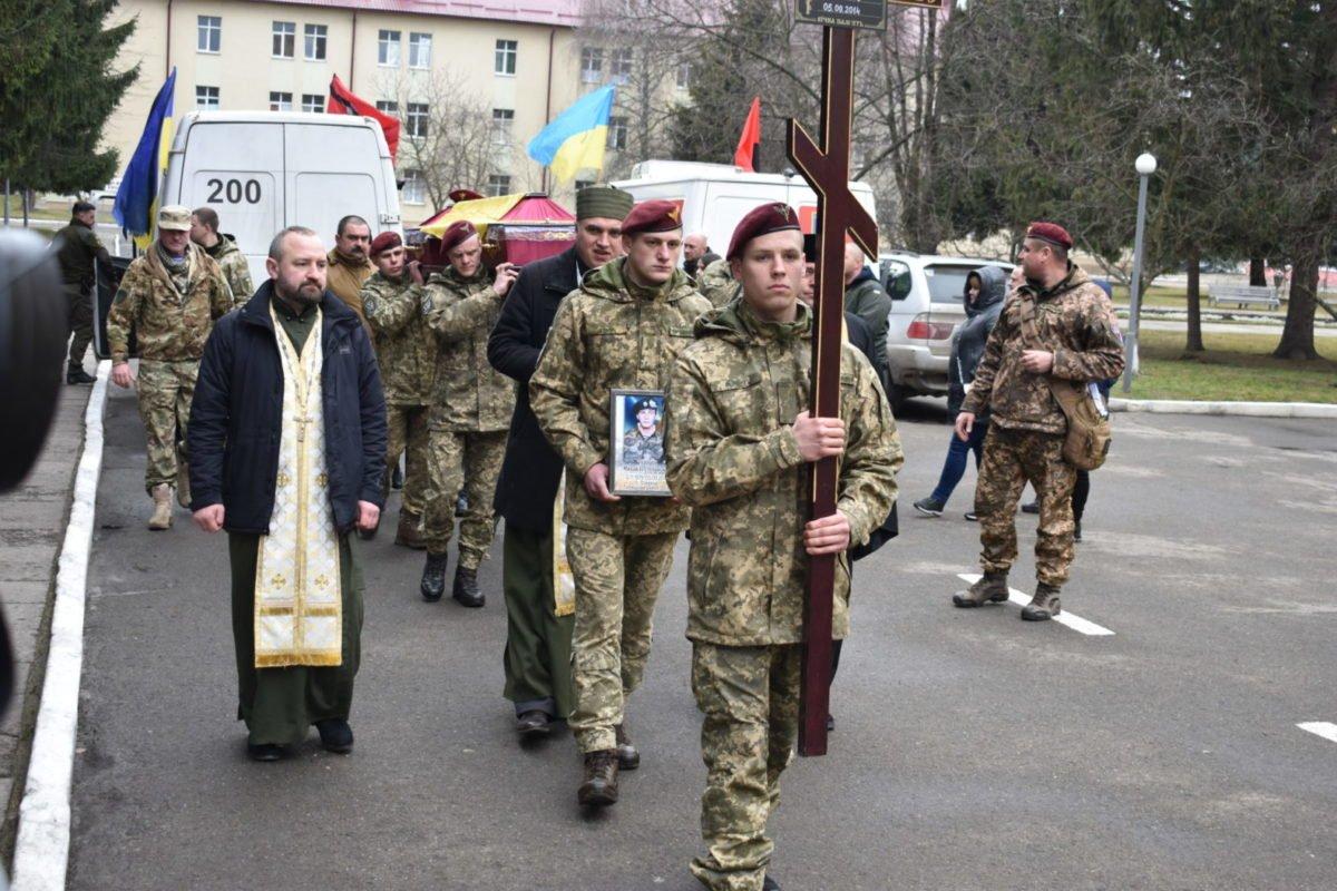У Львові попрощалися з десантником, який загинув 5 років тому в боях за Україну