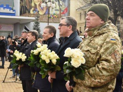 «Відважний погляд проти снайперів»: у Вінниці вшанували пам'ять Героїв Небесної Сотні