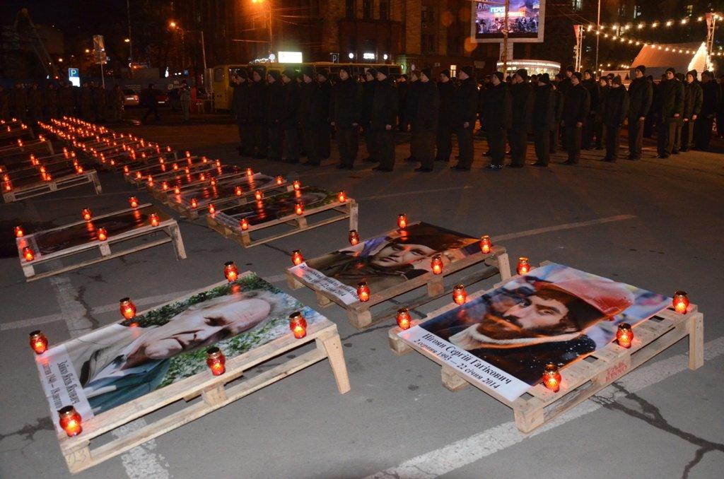 У Дніпрі вшанували пам'ять загиблих на Майдані