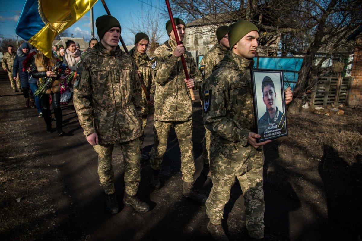 За 10 днів у нього мав закінчитися контракт: на Полтавщині попрощалися з полеглим воїном 72-ї ОМБр