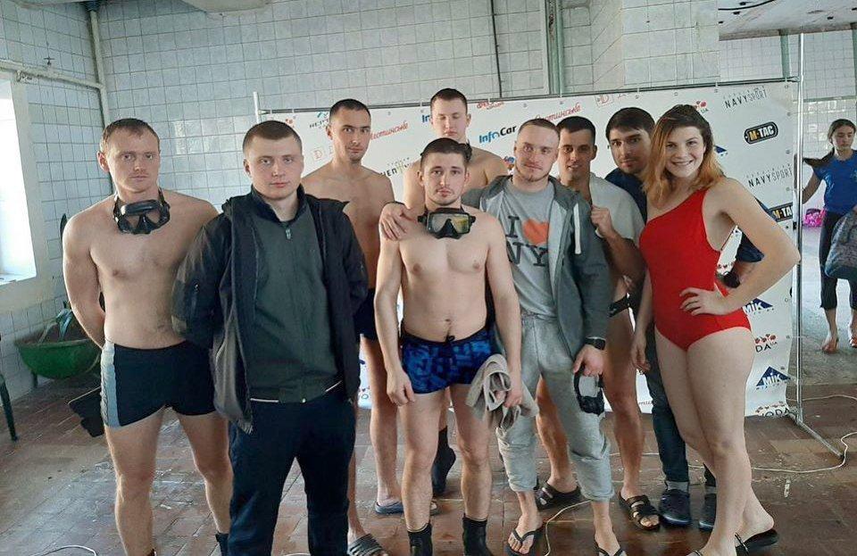 Жінка-водолаз була непереможною на Всеукраїнських змаганнях з акватлону