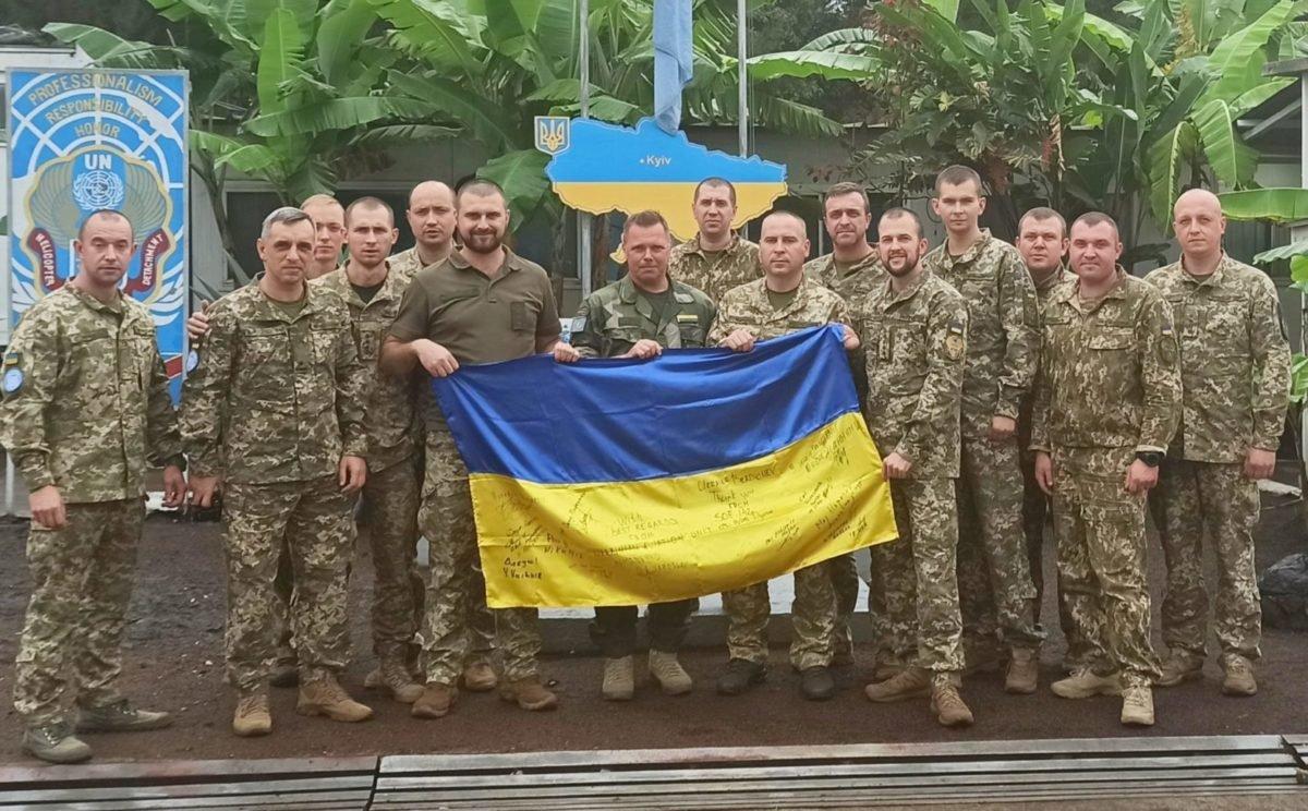У ДР Конго провели триденні заняття для українських миротворців