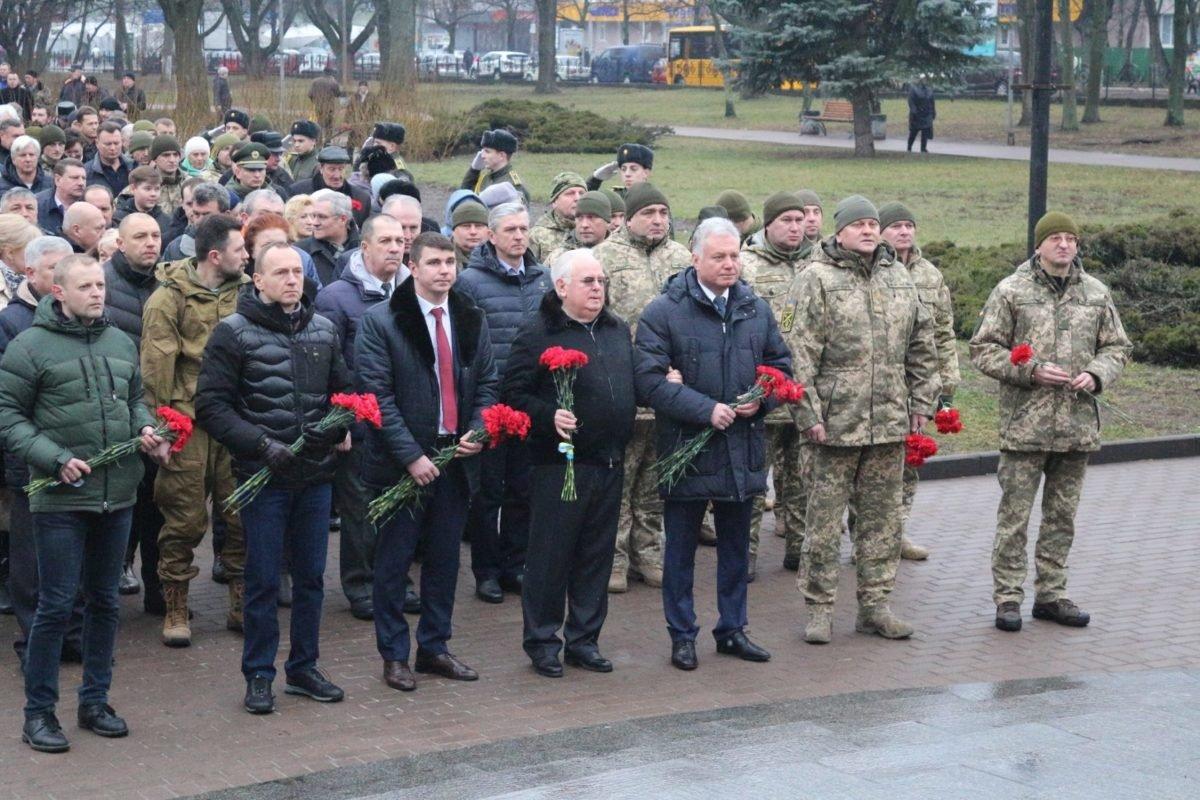 У Чернігові вшанували воїнів – учасників бойових дій на території інших держав
