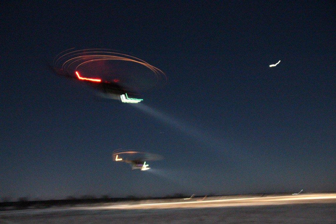 «Танок» вертолітників над Бродами