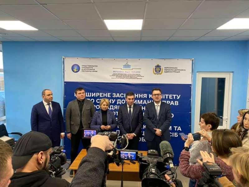 У Парламенті ухвалили «пакет» документів для захисту прав кримчан