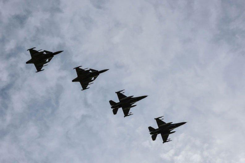 Повітряна поліція Литви була змушена двічі реагувати на провокації російських літаків