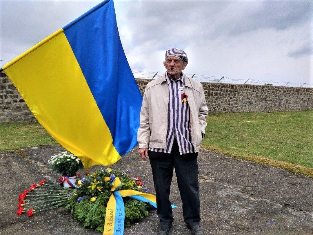 В'язню чотирьох нацистських концтаборів, майору у відставці Ігорю Маліцькому сьогодні виповнюється 95 років