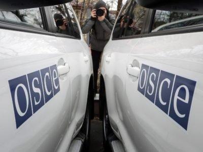 Противник на Донбасі заглушив дрон ОБСЄ, який обстежував лінію розмежування