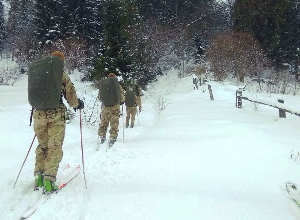 На міжнародні змагання «Військовий лижний патруль 2020» запросили й українських військових