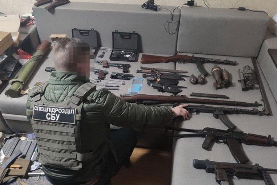 СБУ блокувала збут бойової зброї з району проведення ООС