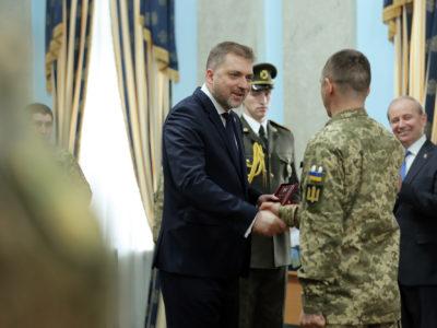 В Міністерстві оборони України відбулася церемонія вручення державних нагород