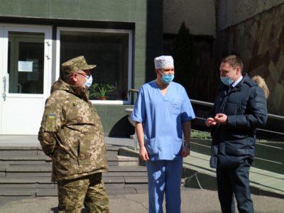 Допомога від Офісу Президента військовим медикам Західного регіону
