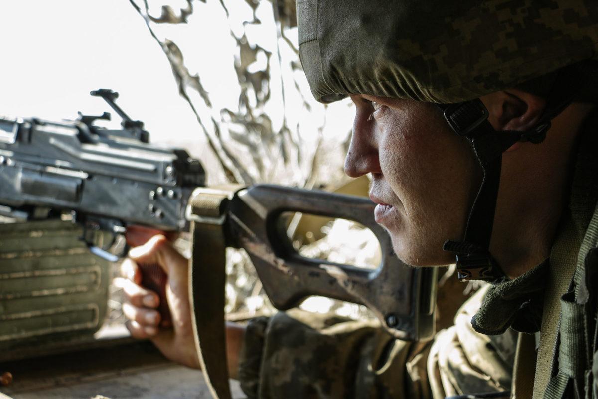 Снайпери з РФ активізувалися в районі Новотошківського