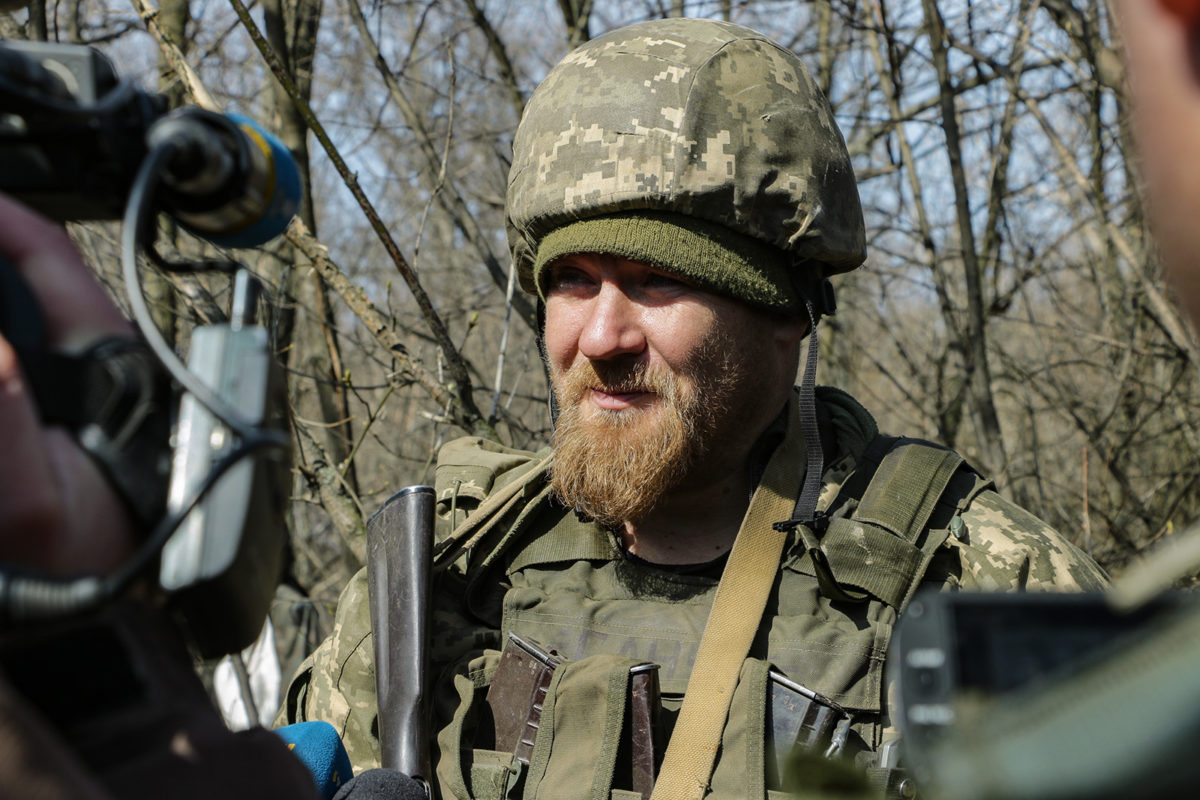 Зайцеве вкотре під снайперським вогнем російських підрозділів