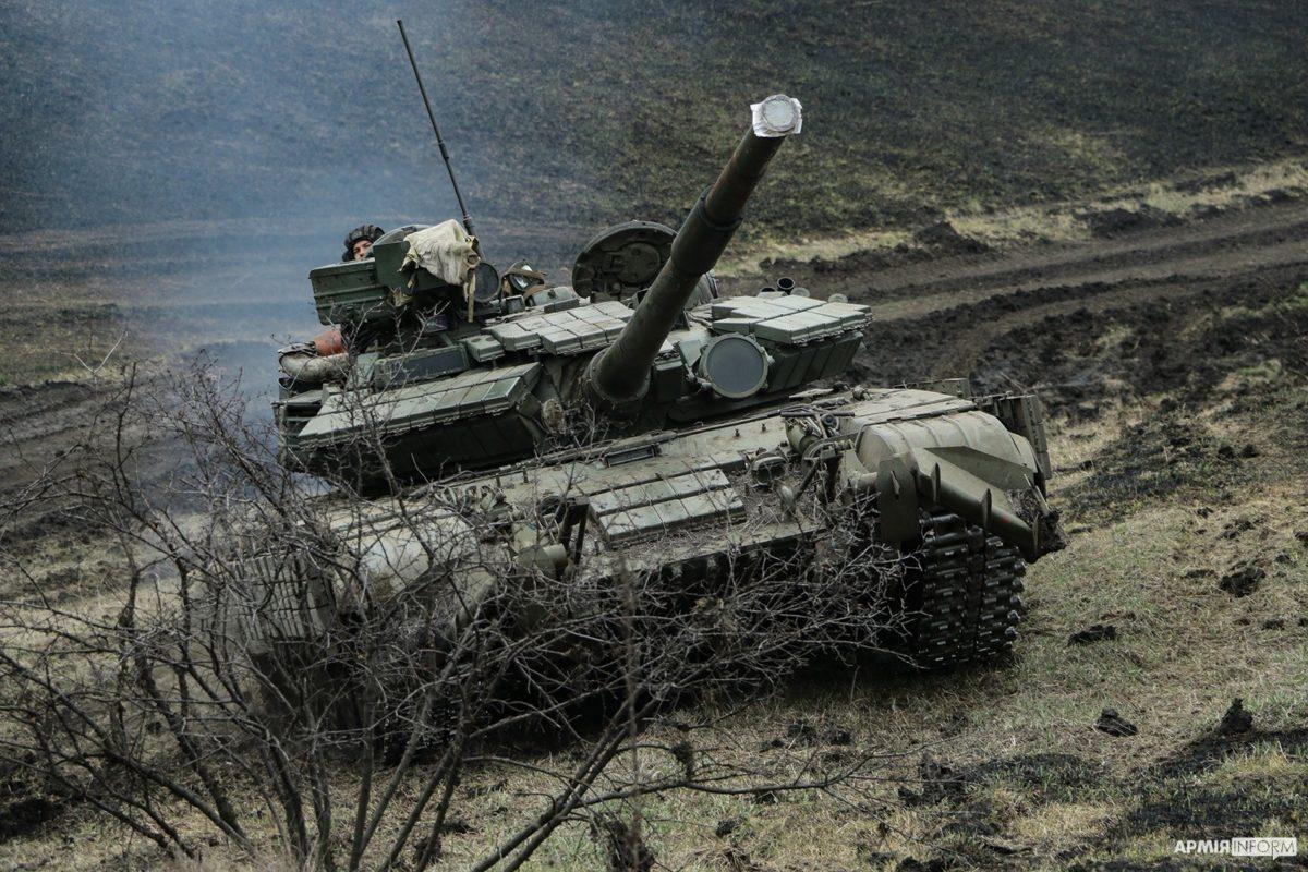 Українські танкісти знищили ворожий РОП
