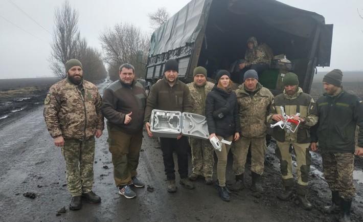 Квадрокоптер від черкаських волонтерів – на фронт українським захисникам