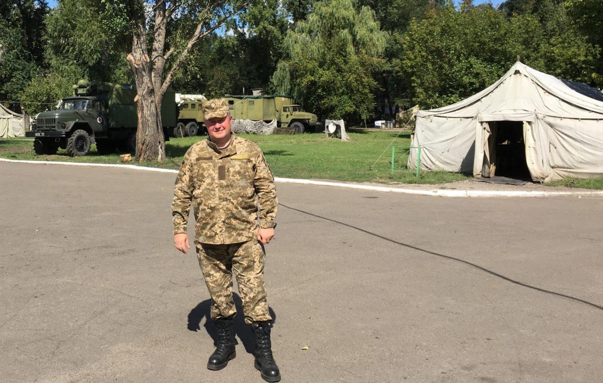 Коронавірус – ще один «фронт» полковника медичної служби Віктора Сивака