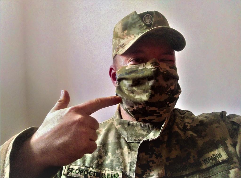 Зроби сам та надівай: медична маска від кореспондента АрміяInform