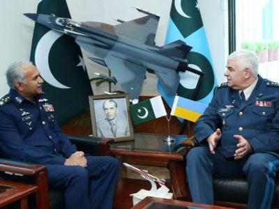 Командувач Повітряних Сил ЗС України відвідав штаб повітряних сил Пакистану