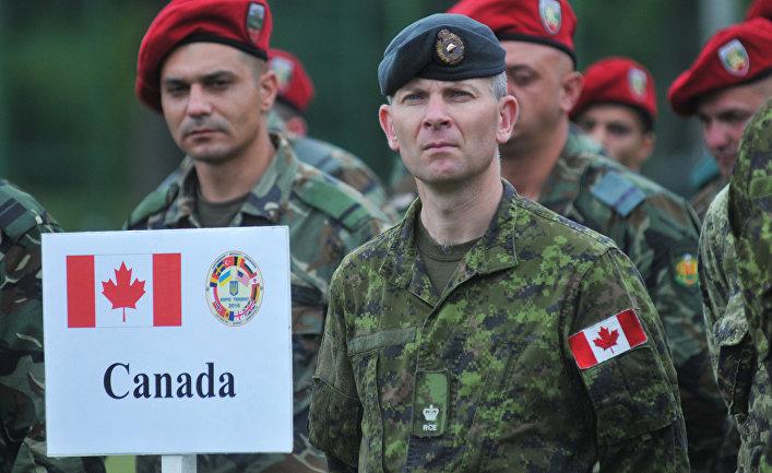 Канада в рази зменшить в Україні свій контингент у рамках UNIFIER