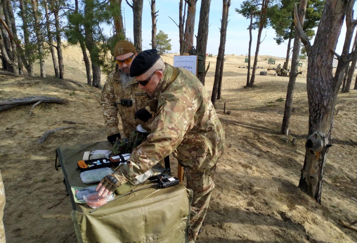 На Херсонщині взяли на озброєння естонську модель підготовки підрозділів тероборони