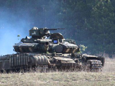 В ОТУ «Північ» відбулися танкові навчання з бойовими стрільбами