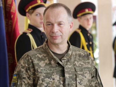 Привітання командувача Сухопутних військ ЗС України з нагоди п'ятиріччя ОК «Схід»
