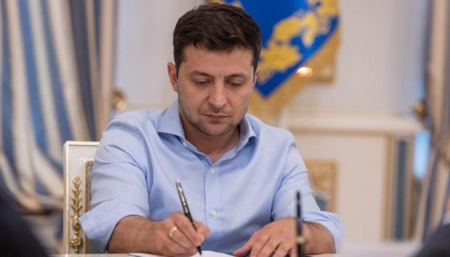 Глава держави підписав низку Указів про призначення керівного складу Збройних Сил України
