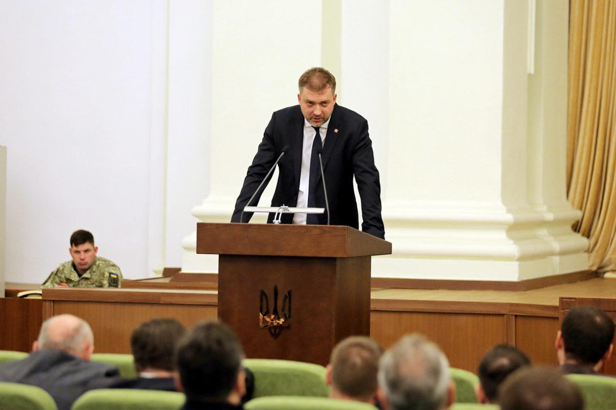 Андрій Загороднюк представникам будпромисловості: «Ми категорично проти будь-яких корупційних проявів»