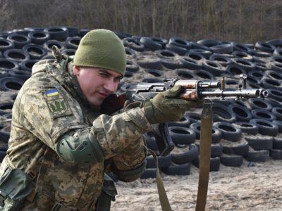 У Чернігівській області піхотинці відпрацювали на практиці дії під час наступу