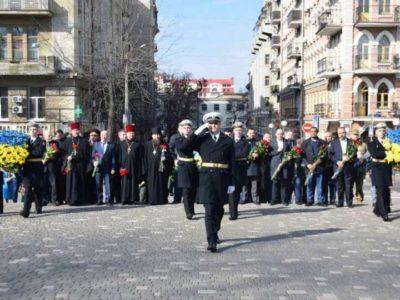 Одесити святкують 206 річницю з дня народження Тараса Шевченка