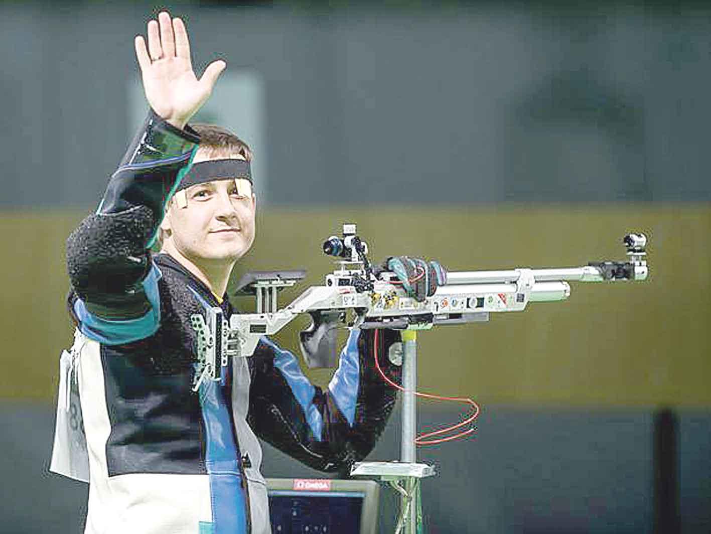 Армієць Олег Царьков здобув «срібло» чемпіонату Європи зі стрільби