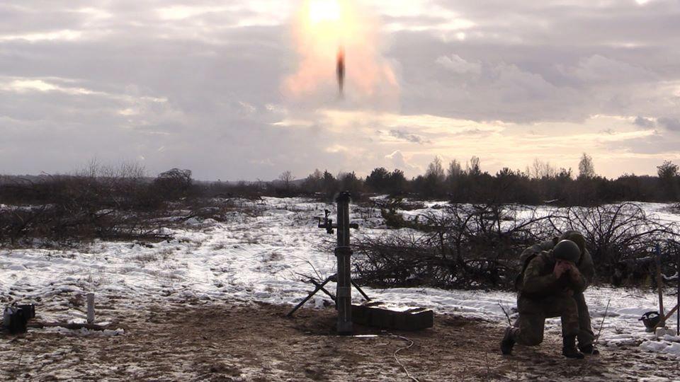 Новий міномет «МП-120» випробовують у Чернігові