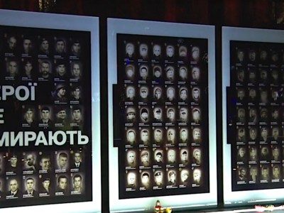 Дніпро долучився до всеукраїнської молитви за загиблими воїнами і за перемогу українського війська