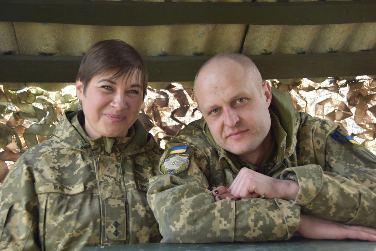 Бойове подружжя Маків – лейтенант і штаб-сержант