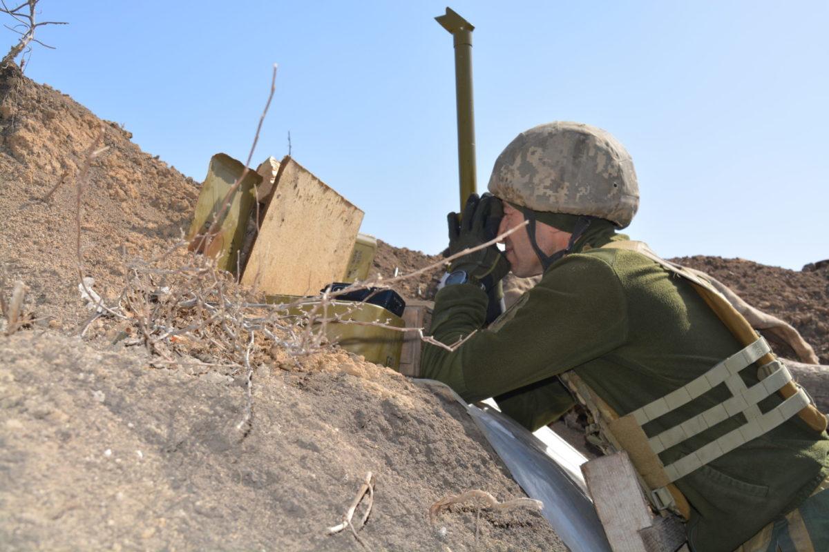Поблизу Водяного працюють ворожі снайпери