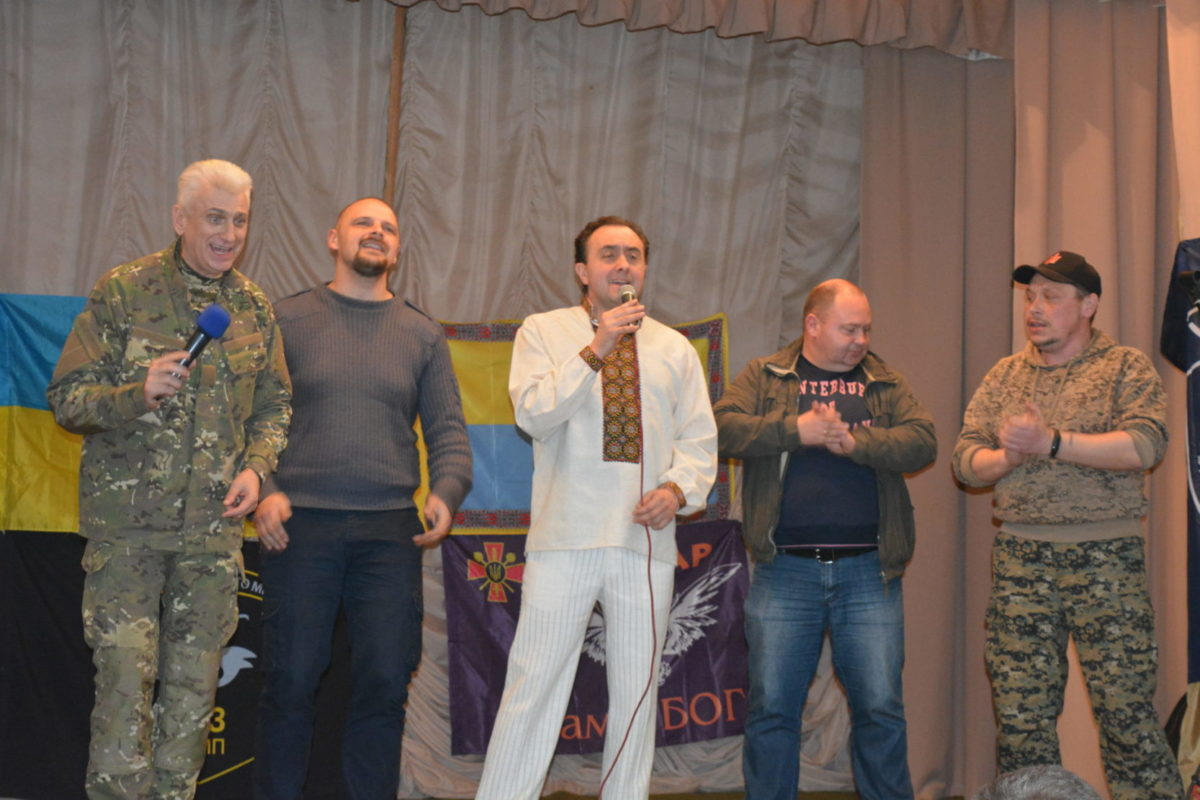 Українські пісні лунають на передовій