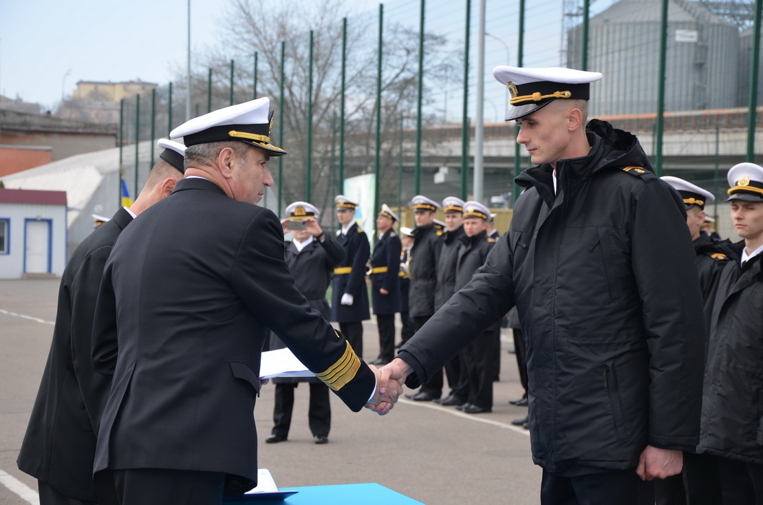 В Одесі відбувся випуск курсантів Морехідного коледжу