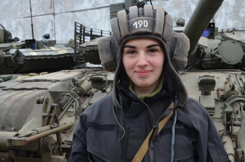 Як Світлана Моісеєва танкісткою стала